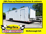 2019 28 Pace American Loaded Race Trailer, Interior, Cabinet