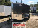 👉 NEW 5X8 Single Axle Enclosed Cargo trailer  for sale $1,999