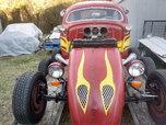 ***Crazy Red VW Rat Rod***