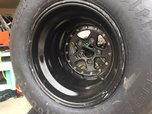 Hoosier pro street tires/wheels  for sale $750