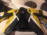 women racing jacket, vest and pants   for sale $600