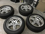 Michelin snow tires w/Voxx rims   for sale $500
