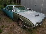 1962 Ford Thunderbird  for sale $5,995