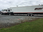 Peterbuilt Toter & Gold Rush Trailer   for sale $145,000