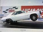 1969 Camaro AA/SA  NHRA Racecar  for sale $80,000