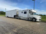 Freightliner toter home and gold rush trailer-REDUCED PRICE!