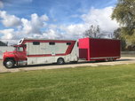 2017 Conversion Truck and Stacker Trailer  for sale $40,000