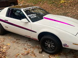 1987 Pontiac Firebird, rolling chassis  for sale $10,000