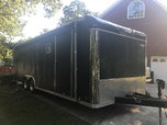 Pace 24ft enclosed trailer