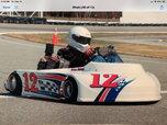 Stock medium oval track kart  for sale $1,800