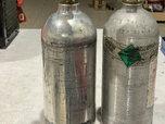 Two 2.5lb CO2 Shift Bottles  for sale $150