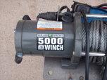 badland 5000lb winch  for sale $125