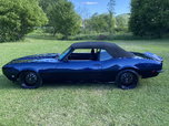 Pro touring 1968 convertible camaro