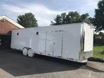 2019 28FT Enclosed Trailer  for sale $12,900