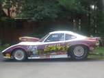 1970 opel gt drag car with trailer  for sale $28,500