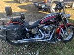 2012 Harley Davidson FLSTC Heritage Softail Classic  for sale $9,000