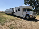 1995 International Toterhome & 1994 Pace 48' Stacker Tra  for sale $84,000