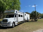 Toterhome and Stacker Trailer  for sale $180,000