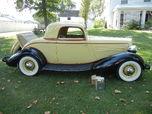 1934 HUPMOBILE  for sale $34,500