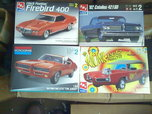 MUSCLE CAR MODELS AND DIECAST  for sale $20