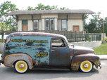 1954 Rat Rod Chevy Panel Truck