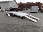 22 ft Open Car Aluminum Trailer 9,990 GVWR