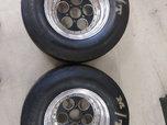 Holeshot Hole Pro-2 Wheels w/ MT Slicks  for sale $950