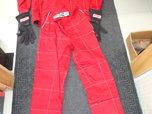 Crow Enterprises Race Suit, Neck Collar Support & Gloves  for sale $150