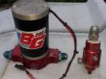 Barry Grant 280 fuel pump and regulator  for sale $125