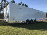 34ft Cargo Mate Eliminator Race Trailer