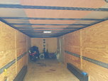 2016 24 ft enclosed trailer like new condition