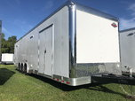 8.5' x 34' Cargo Mate Race Trailer