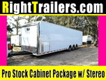 2020 Pro Stock Elite 34' Trailer - Dragster Lift - Loaded OU for Sale
