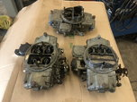3 Holley 750 Vacuum Secondary Carbs  for sale $250