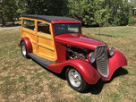 1934 ford woody, Hercules, 500 miles, 350, 700r4, a/c