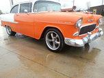 1955 chevy nice car 396 4 spd