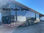 34 Haulmark Edge PRO race trailer 2 awnings   for sale $47,999