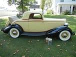 1934 Hupmobile Coupe
