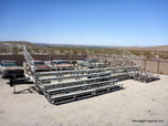 Mobile Bleachers Stadium Seating for 180+  for sale $5,500