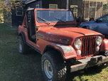 1983 Jeep CJ7  for sale $6,995