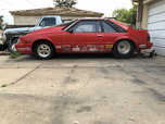 Fox body Mustang chassis car roller  for sale $6,500