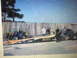 Top dragster and trailer  for sale $35,000