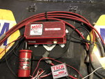 MSD 6AL box,coil,wires and tach control  for sale $150