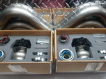 2 Tial 44mm -MV-R gate valves, with ss downpipes  for sale $750
