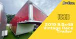 2019 8.5x48 Vintage Race Trailer  for Sale