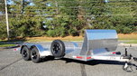 18 Foot Aluminum Car Trailer with Air Dam  for sale $8,880