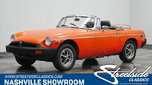 1980 MG MGB  for sale $16,995