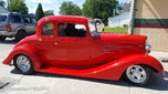 1934 5 window Chevy coupe