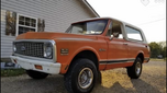 1972 Chevrolet Blazer  for sale $22,000