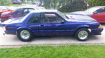 Fox Body Mustang Drag Car 8.50 Certified Roller  for sale $11,000